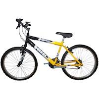 Bicicleta Todoterreno Rin 20 X 2 Sin Cambios - Negro Amarillo