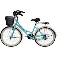 Bicicleta Playera Rin 26 Tipo Moto 18 Velocidades - Verde