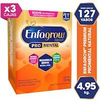 Enfagrow® Premium sabor natural-  ¡4.95 KG  a solo s/349!