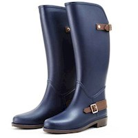Bottplie - Botas De Lluvia Impermeable Horse Riding Azul Navy