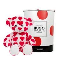Hugo mediano corazones en lata Rosatel