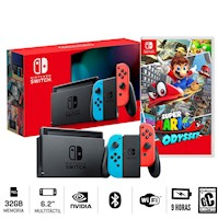 Nueva Consola Nintendo Switch 2019 + Super Mario Odyssey