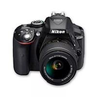 Nikon Cámara D5300 +18-55 +sd 8gb +maletín