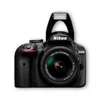 Nikon Cámara D3400 +18- 55mm Af-p Vr + Sd 8gb +maletín