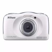 Nikon Cámara Sumergible Coolpix W100 Blanco + Memoria 8gb