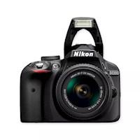 Nikon Cámara D3300 +18-55 + 55-200 + Sd 8gb + Maletin