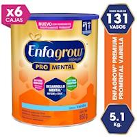 Enfagrow® Premium sabor a vainilla  ¡Llévate 6 latas al precio de 5!