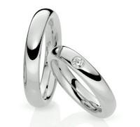 Aros de Matrimonio de Plata - 1