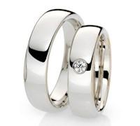 Aros de Matrimonio de Plata - 3