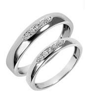 Aros de Matrimonio de Plata - 5