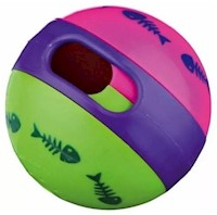 Juguete Gatos Trixie Snack Treat Ball Pelota Porta Pasabocas