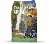 Taste Of The Wild Gatos Rocky Mountain Salmon Venado 5 Lb