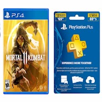 Mortal Kombat 11 + PSN Plus 1 Año