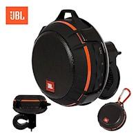 Parlante JBL Wind Bluetooth - Radio FM - MicroSD - Moto/Bici - Naranja/Negro