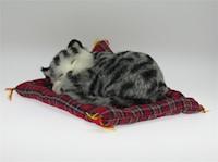 Juguete Gato Decorativo Gray Tabby Mini Petzzz 20 cm MP-2604