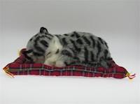 Juguete Gato Decorativo Gray Tabby Mini Petzzz 15 cm MP-2704