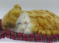 Juguete Gato Decorativo Orange Tabby Mini Petzzz 15 cm MP-3048