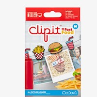 Clip Colgante Comida Rapida X 6