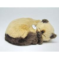 Juguete Gato que Respira Tan Siamese PP92-15BV6