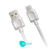 InOne Cable de Datos Conexión USB a Tipo C 1 Metro 2A