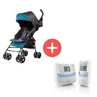 Coche Paseador Multiposiciones Summer Infant S32643 + Monitor Econtrol Plus Nuk