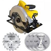 Sierra Circular Profesional 7-1/4+ 4 Discos SC16-K1 Stanley