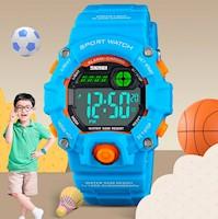 Reloj Skmei 1484 Deportivo Antigolpes Alarma Cronómetro Acuático G-shock Niños