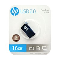 Memoria USB 2.0 16GB HP Flash Drive V165W Azul