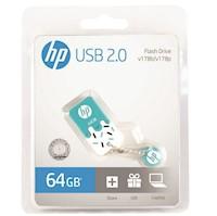 Memoria USB 64GB HP Flash Drive V178B Celeste
