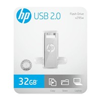 Memoria USB 2.0 32GB HP Flash Drive V295W Metal