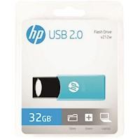 Memoria USB 32GB HP Flash Drive V212W Celeste