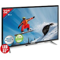 """TELEVISOR CHALLENGER 32T20 LED 32""""  ANDROID T2 NEGRO"""