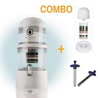 Combo: Purificador de Agua Biowater + Kit de 3 repuestos + Encendedor de impacto