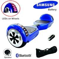 Scooter Hoverboard Smart Balance con Batería Samsung - Azul