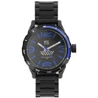 Reloj Yess Hombre 806 Negro Y Azul