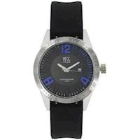 Reloj Yess Hombre 006456A Negro Y Azul
