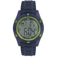 Reloj Yess Hombre Digital Pulso Sintetico Con Luz Multifuncion
