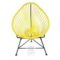 Divina Diseños  Silla Acapulco Color Amarilla