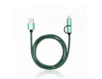 Cable Lightning Aoolif Micro USB & Lightning - Verde