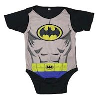 Bodie Body Mameluco Para Bebe Diseño Superheroes Batman Azul