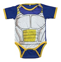 Bodie Body Mameluco Bebes Superheroes Vegeta Dragon Ball