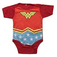 Bodie Body Mameluco Bebes Diseño Superheroes Mujer Maravilla