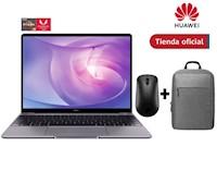 Huawei Matebook 13 R5 8Gb+256Gb Gris + Mochila + Mouse