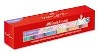 Témpera Pastel Faber-Castell estuche 6 colores x 30ml