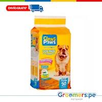 Paños de Entrenamiento para Perros - CLAWS & PAWS 50 Pads