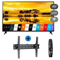 Mega Oferta: Tv LG Smart Tv 4K 49'' 49UM7100 UHD + Rack + Magic Remote