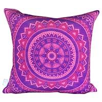 Divina Diseños  Cojín Decorativo Mandala Sabiduria