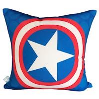 Divina Diseños  Cojín Decorativo Super Héroe Capitán Planeta