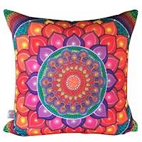 Divina Diseños  Cojín Decorativo Mandala Crecimiento