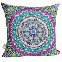 Divina Diseños  Cojín Decorativo Mandala Protección